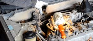 Замена масла в двигателе Ниссан Альмера