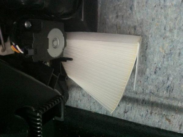 замена салонного фильтра ниссан джук